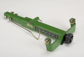 Row tillage support bracket