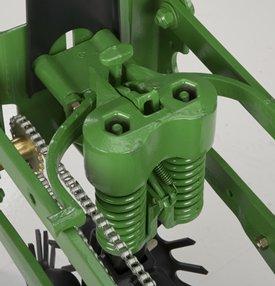 Adjustable, heavy-duty downforce springs