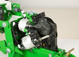 Two 56-V brushless electric motors