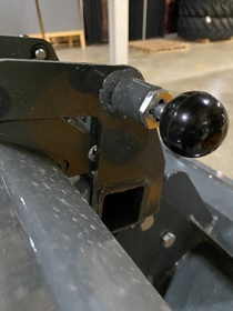 QuickTach system to easily change from cutter to puller attachments