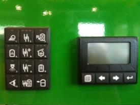 12-button keypad and micro-display