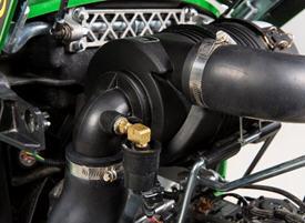 Air filter restriction sensor