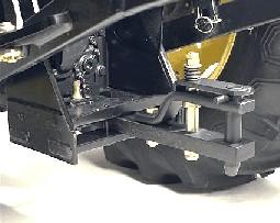 Straight drawbar clevis kit