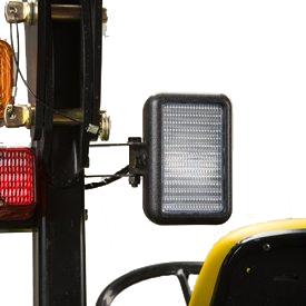 Rear work light