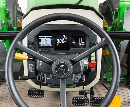 AutoTrac in the tractor display