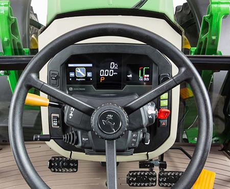 5M Tractor digital dash display