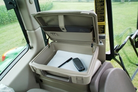 Field Office shown in 6030 Premium Series Tractor