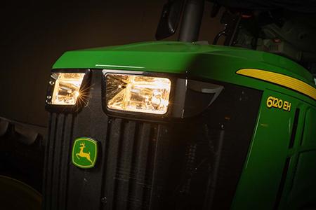 Premium light kit on 6120EH Tractor