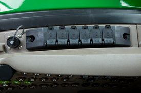 Electrical power strip on 6R Tractor