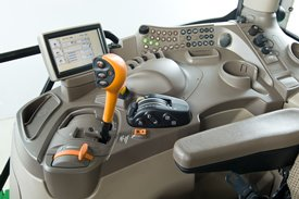 ComfortView cab right-hand console w/o CommandArm
