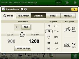 e23 custom transmission page