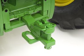 Category 2 drawbar with low-profile clevis