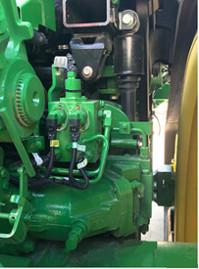 Steering pump and loop override circuit