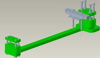 Drawbar reinforcement kit