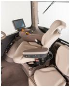 40-degree seat swivel shown