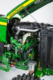 Powerful Yanmar engine