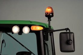 Beacon light on a 6230 Tractor