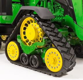 Fender on track tractor