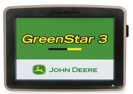GreenStar 3 2630 Display shown