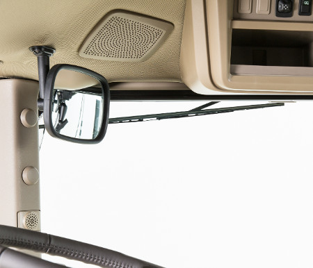 RE588734 internal rear mirror (shown in standard mounting position)