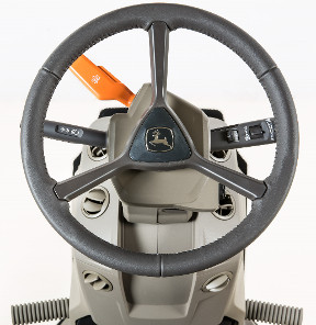 RE584990 leather steering wheel