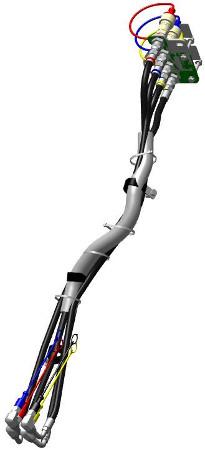 BLV10948 hydraulic hose kit shown