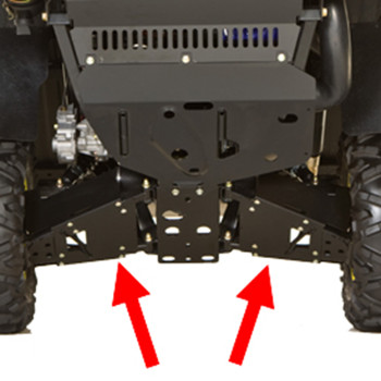 Rear CV guards
