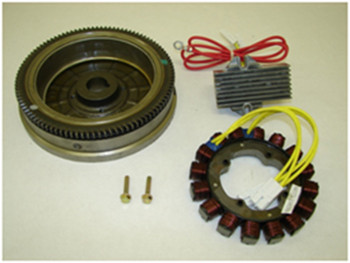 High-capacity alternator