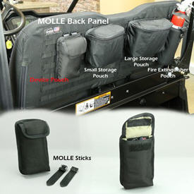 MOLLE device pouch