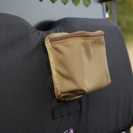 MOLLE small storage pouch - brown