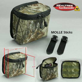 MOLLE small storage pouch - camo