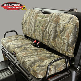 Rear bench seat cover