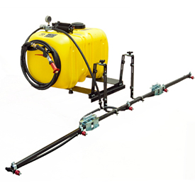 45-gal. (170.3-L) high-performance bed sprayer