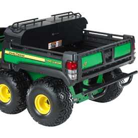 Gator toolbox shown on TH 6x4 with deluxe cargo box