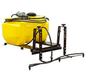 25-gal. (94.6-L) bed sprayer