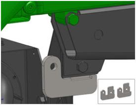 Hitch mounting brackets