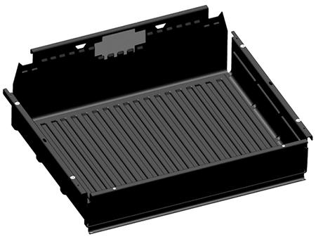 101.6-cm (40-in.) poly bedliner