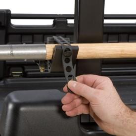 Adjusting the tool rack holder
