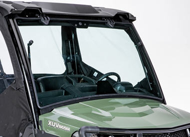 Glass windshield