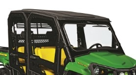 Poly cab doors