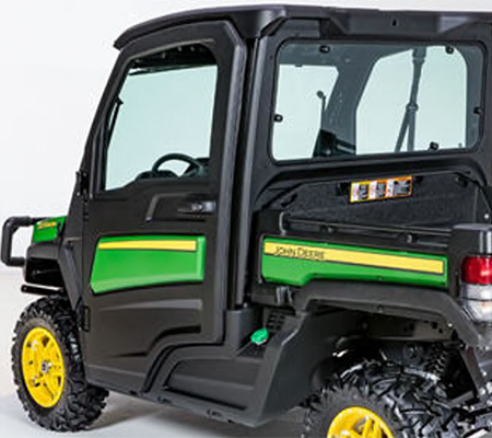 Cab doors (shown with green and yellow color panel – sold separately)