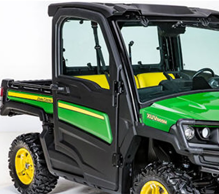 Cab doors (shown with green and yellow color panel - sold separately)