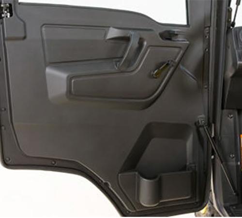 Inner cab door detail