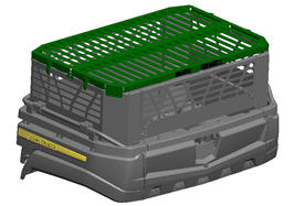 Cargo box side extension cover