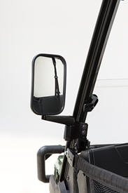Side mirrors – open station