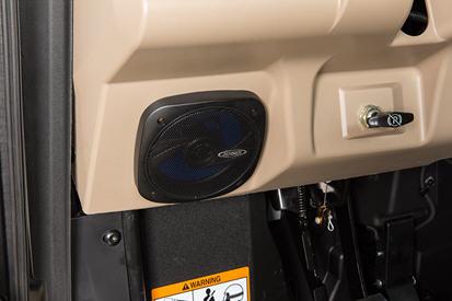 Lower left speaker
