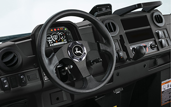 Honor Edition operator station shown on HVAC cab model