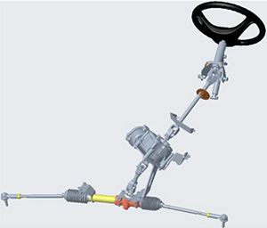 Electric power-assist steering system
