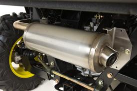 High-performance slip-on exhaust