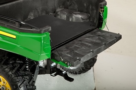 Cargo box, tailgate down